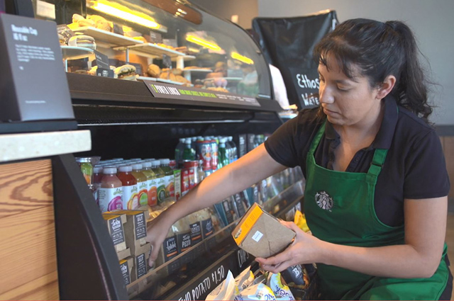 Starbucks FoodShare and City Harvest