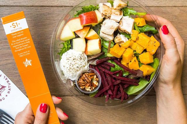 Pret A Manger's Fall Harvest Salad
