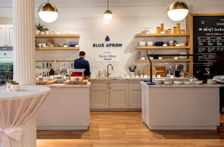 Blue Apron 'Unboxed' Pop-up Shop