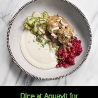 Aquavit – Hunger Action Month