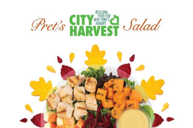 City Harvest Salad at Pret A Manger