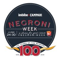 2019 Negroni Week