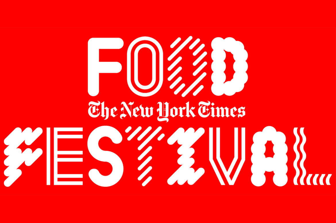 The New York Times Food Festival on October 5-6
