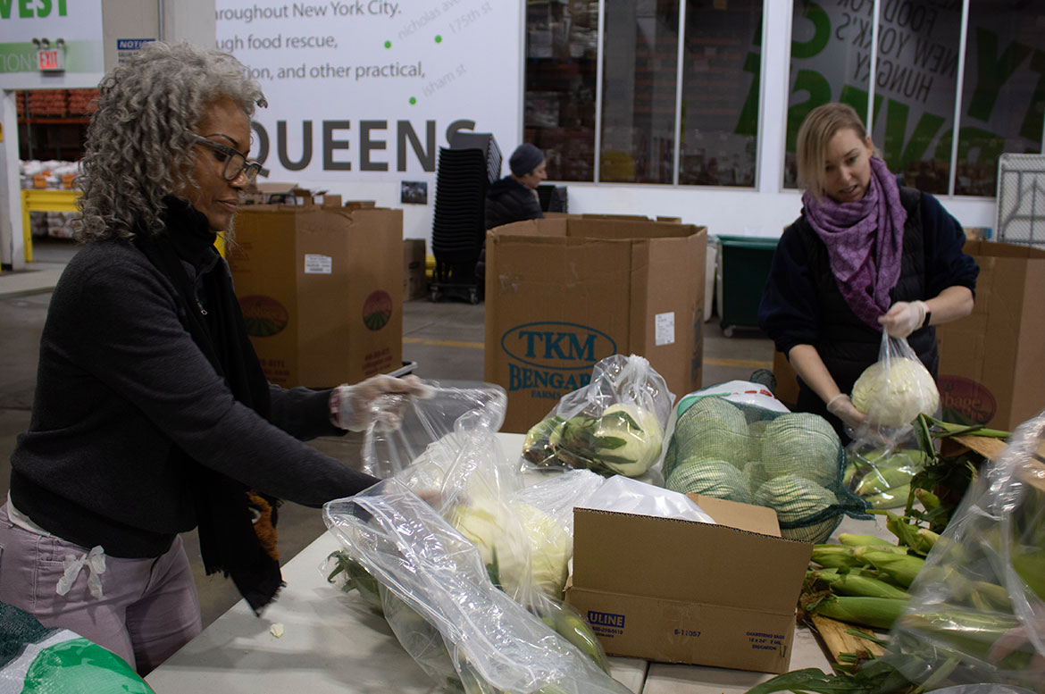 Volunteer at Our Food Rescue Facility