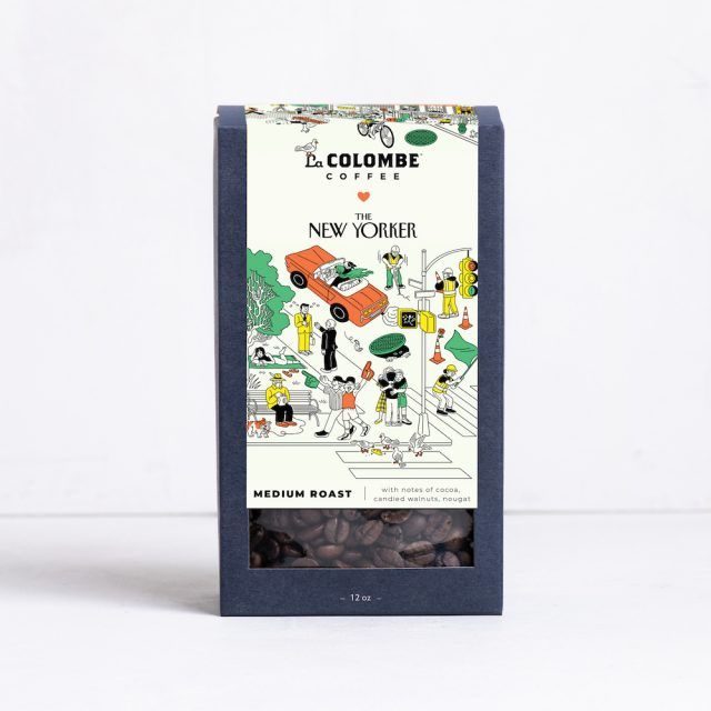Buy a Box of La Colombe x The New Yorker